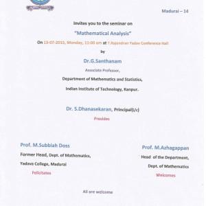 prof.santhanam 1